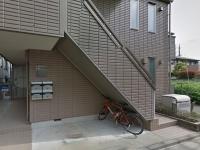 Entrance.ポスト.自転車置場.ゴミ置き場