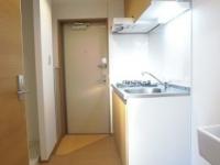 玄関 キッチンスペース
