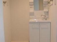 独立洗面台 室内洗濯機置場