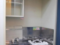 キッチン 1口ガスコンロ