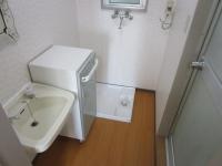 洗面所 独立洗面台 洗濯機置場