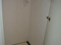ドア付き室内洗濯機置場