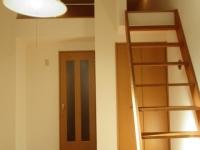 ロフト(固定階段)