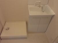 洗濯機置場 洗面台