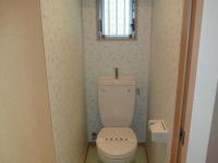 窓付き洋式トイレ