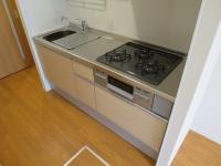 3口ガスコンログリル付Kitchen