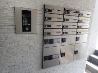 オートロック、mail box、宅配BOX