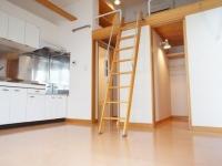 洋室.キッチン.WCL.ロフト梯子