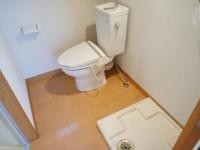 Toiletroomと洗濯機置場