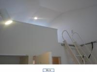 ロフト天井 照明付き