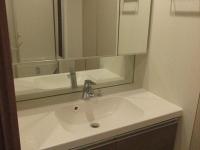 鏡が大きい独立洗面