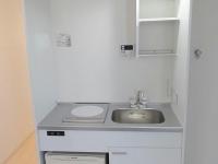 IHコンロ付キッチン