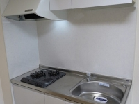 2口ガスコンロ付システムキッチン