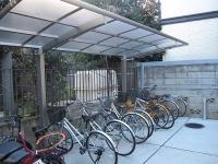 駐輪場 屋根付