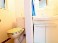 独立洗面台&トイレ