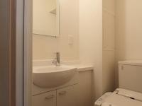 独立洗面台.シャワー付きトイレ