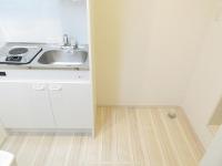 キッチン.洗濯機置場.床下収納