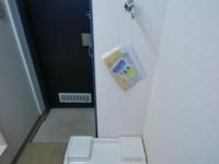室内洗濯機置場 玄関