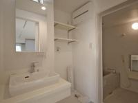 独立洗面台 洗濯機置場 浴室