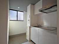 2.1Jキッチン 玄関スペース