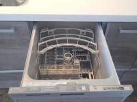 食洗器。奥さんの味方ですね