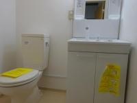 トイレに独立洗面台