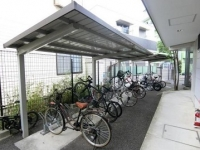 屋根付き駐輪所