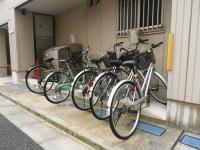 ゴミBOX 駐輪スペース